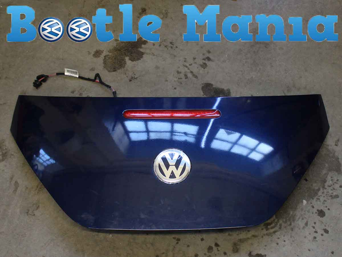 Beetle Convertible 03-2011 Used Tailgate Bootlid Royal Navy LG5V 1Y0827025HLG5V