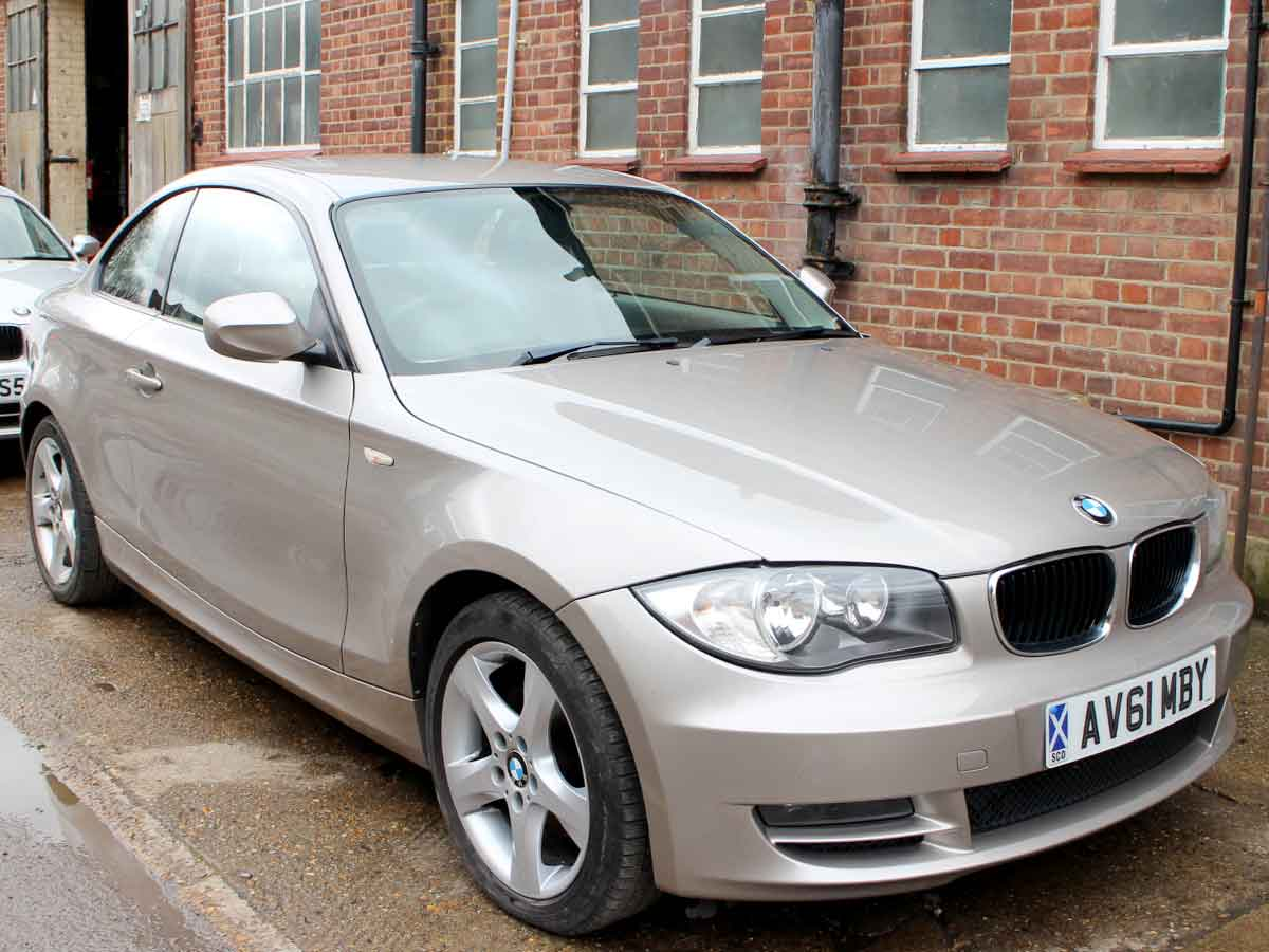 2011 BMW 120D 2.0 SE Coupe Manual Diesel Leather AC 2 Owners 89,000 miles FSH AV61MBY