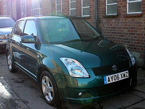 2006 Suzuki Swift 5 Door Hatchback 1.5 GLX 5dr Green Air Con 40,000 Miles AY06XWZ
