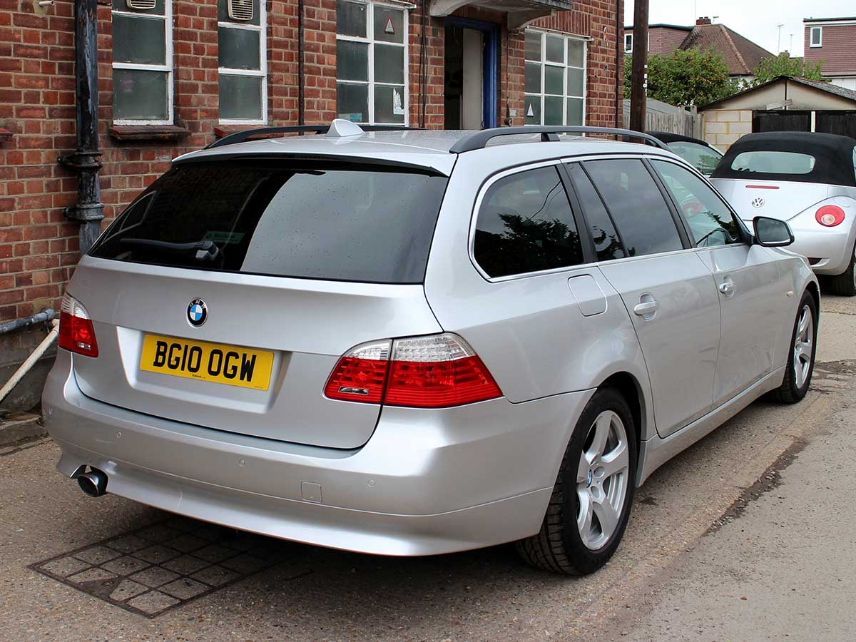 2010 bmw 520d se touring manual diesel 5dr estate 1 owner 82k service history ebay. Black Bedroom Furniture Sets. Home Design Ideas