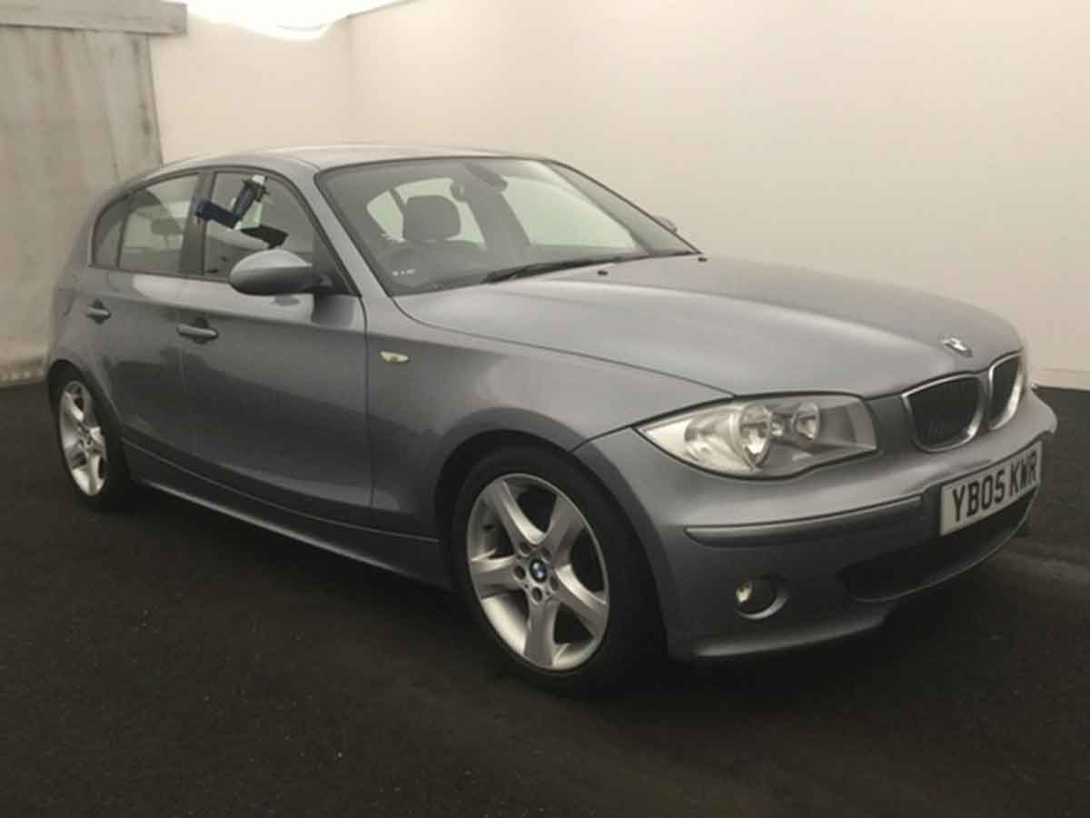 2005 BMW 118i 2.0 Sports 5 Doors Hatchback Manual Petrol Met Grey AC 84,000 Miles FSH YB05KWR