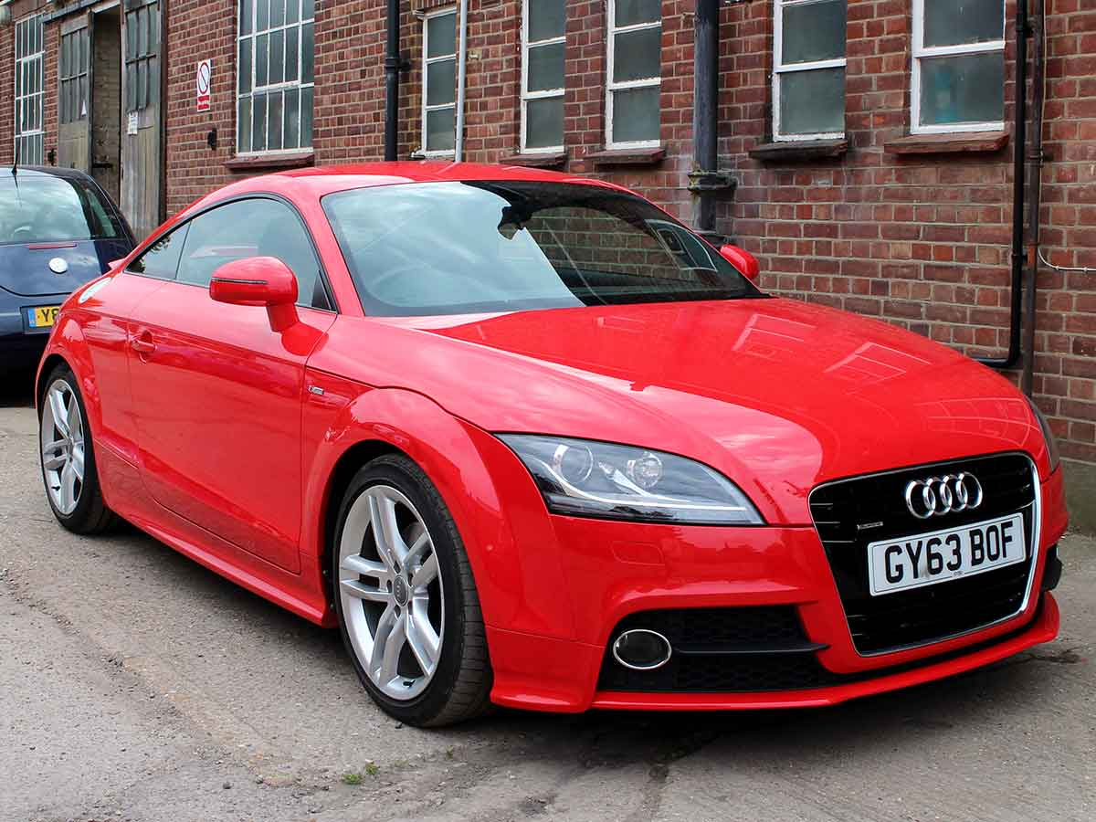 2014 Audi TT S Line Quattro 2.0 TDI Diesel 2dr Red 34,200 miles 2 Owners Full Audi Service History GY63BOF