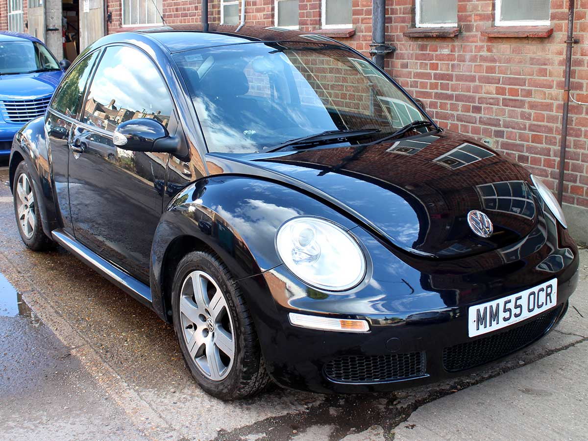 2005 Volkswagen Beetle Herbie 1.6 Luna SE in Black Years MOT Full Service MM55OCR