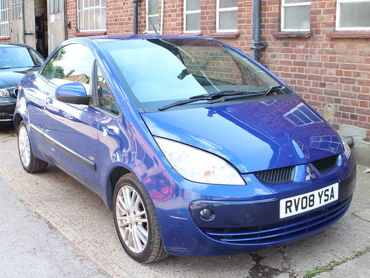 2008 Mitsubishi Colt 1.5 CZC2 Convertible 5 Speed Blue 124k RV08YSA
