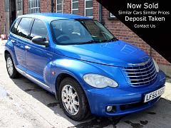 Chrysler PT Cruiser 2.4 Limited 5dr Blue Auto Leather A/C 39,000 Full History LF55KGX