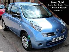 Nissan Micra 1.2 2009 17,000 Miles One owner Blue Must be Viewed MW09LFM