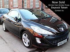 2010 Peugeot 308 CC Convertible 1.6 THP SE Manual Bronze with Ivory Leather 56,000 miles Full Service History RO60WZU