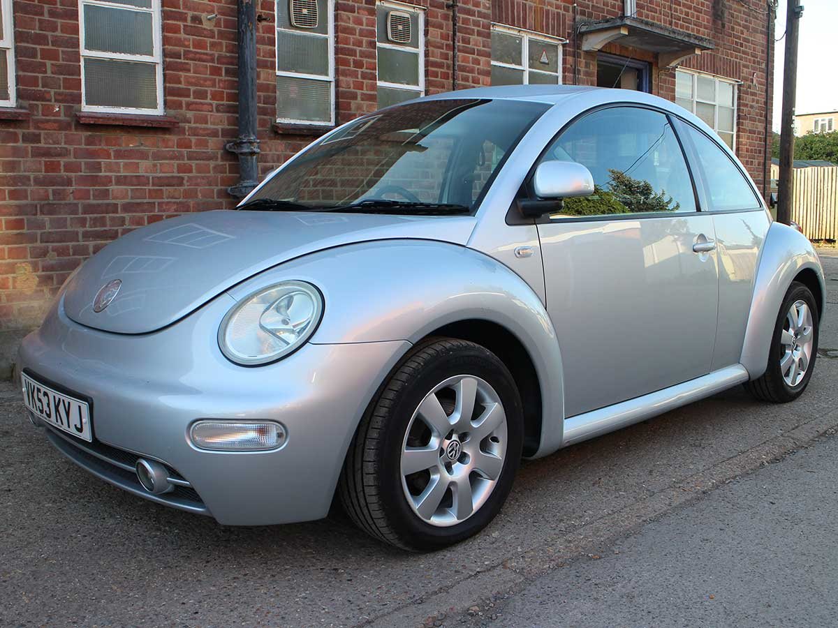 VW 2003 vw bug : 2003 Volkswagen Beetle 2.0 SE in Silver with Full Winter Pack and ...