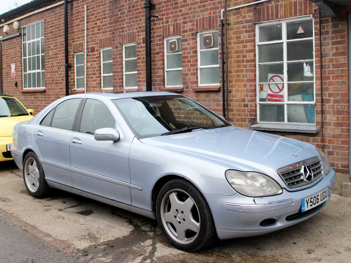 2001 Mercedes-Benz S Class S320 CDI Automatic Blue Full Leather Loaded 1 Previous Owner 2 Keys 96,000 miles FSH Y506UGU